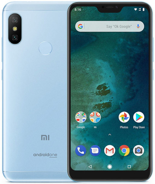 Xiaomi Mi A2 Lite 4GB/64GB GLOBAL modrý
