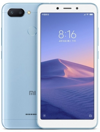 Xiaomi Redmi 6 3GB/32GB Global modrý