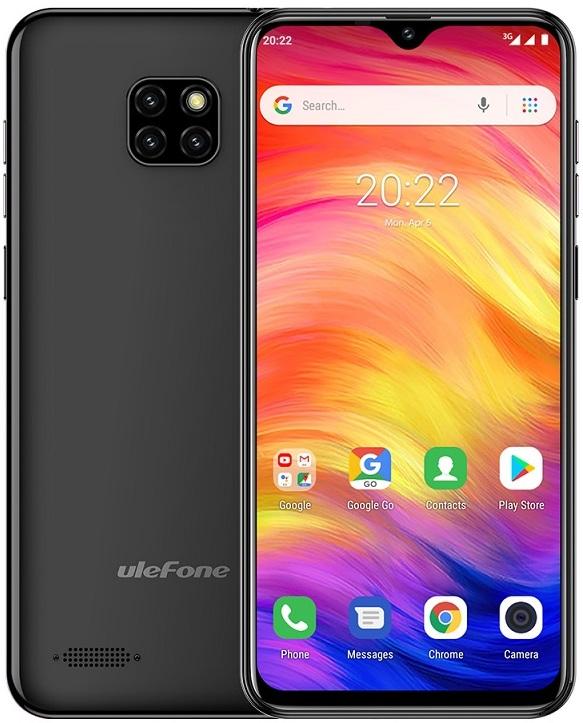 ffc933cad DUAL SIM MOBILY VŠETKY | Ulefone Note 7 čierny | Lacné a výkonné mobilné  telefóny a príslušenstvo