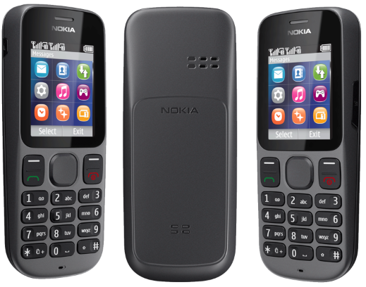 NOKIA 101 Phantom Black - 1