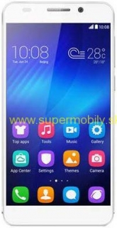 Huawei HONOR 6 PLUS 16GB biely