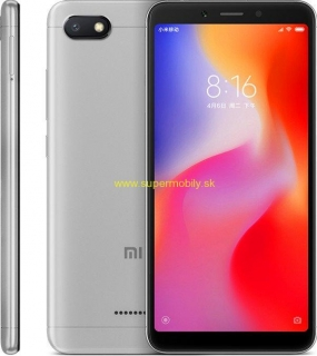 Xiaomi Redmi 6A 2GB/16GB Global šedý
