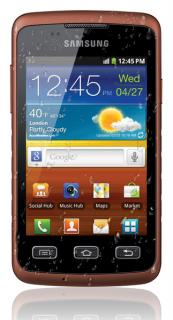 SAMSUNG S5690 Black Orange