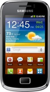 SAMSUNG S6500 Galaxy Mini II Black