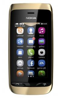 NOKIA 308 ASHA Golden Light