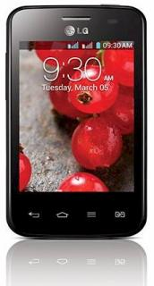 LG E435 Optimus L3 II Dual SIM Black