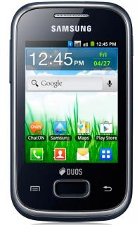 Samsung S5302 Galaxy Pocket Duos Black