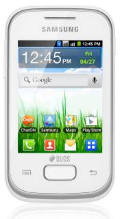 Samsung S5302 Galaxy Pocket Duos White
