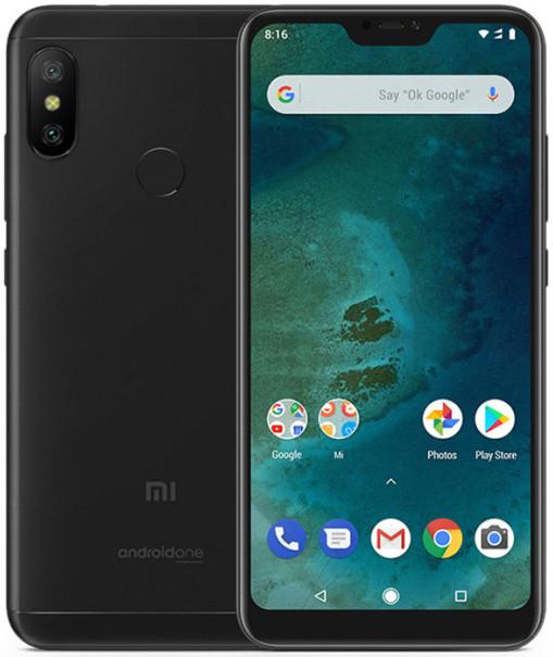 Xiaomi Mi A2 Lite 4GB/64GB čierny (DUAL SIM, 4G LTE INTERNET, 8-JADRO, RAM 4GB, PAMäť 64GB, FULLHD+)